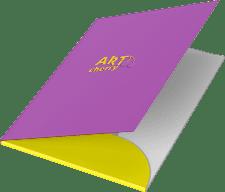печать и изготовление папок на заказ