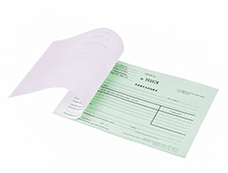 печать и изготовление бланков на заказ
